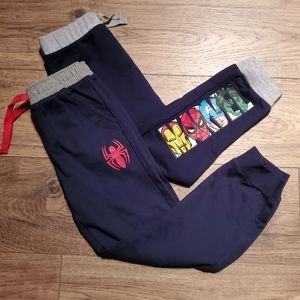 NWOT 2 pairs of Marvel track pants